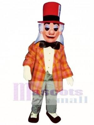 Verrücktes Hutmacher Maskottchen Kostüm