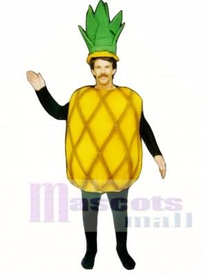 Ananas Maskottchen Kostüm Obst