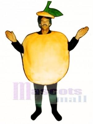 Pfirsich Maskottchen Kostüm Frucht