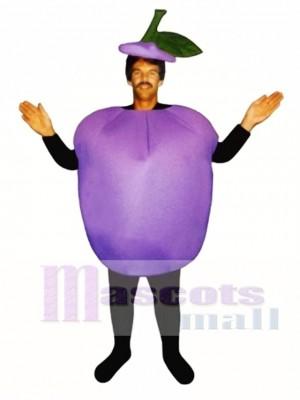 Pflaume Maskottchen Kostüm Obst