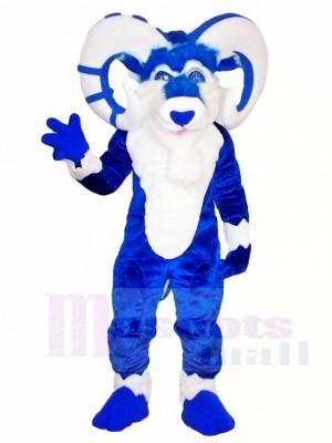 Blau Ram Maskottchen Kostüme Bauernhof Tier