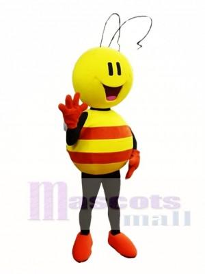 Gelb und Orange Biene Maskottchen Kostüm Insekt Maskottchen Kostüme