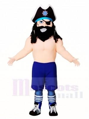 Blackbeard Piraten Maskottchen Kostüme Menschen
