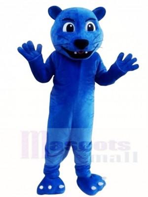 Blau Leopard Panther Maskottchen Kostüme Tier