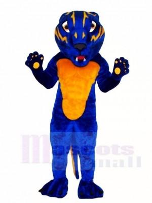 Blau Bearcat Maskottchen Kostüme Tier