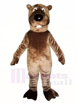 Braun Biber Maskottchen Kostüme Tier