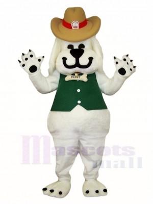 Weißer Hund Maskottchen Kostüme Tier
