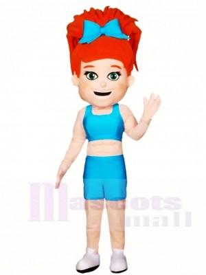 Cheerleader Mädchen Maskottchen Kostüme Menschen