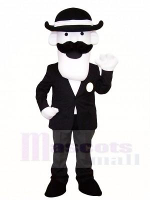 Mann im Anzug Maskottchen Kostüme Menschen