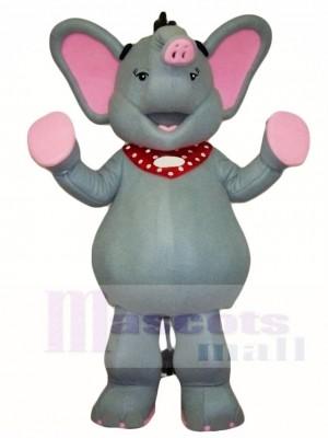 Grau Elefant Maskottchen Kostüme Tier