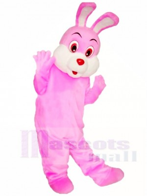 Rosa Ostern Hase Maskottchen Kostüme Tier