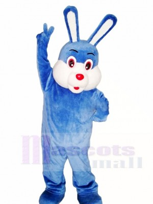 Blue Easter Bunny Rabbit Mascot Costumes Animal