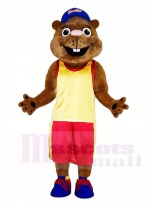 Gopher im Sport Anzug Maskottchen Kostüme Tier