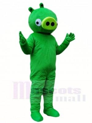 Grünes Schwein Maskottchen Kostüm Tier