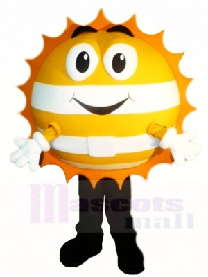 Glücklich Sonnenschein Maskottchen Kostüme
