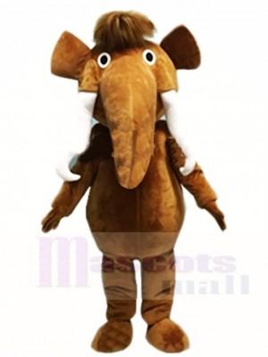 Braun Elefant Maskottchen Kostüme Tier