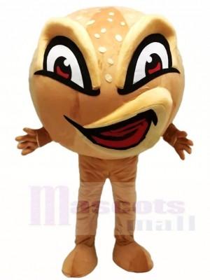 Hässlich wütend Gesicht Brot Maskottchen Kostüme Lebensmittel Snack