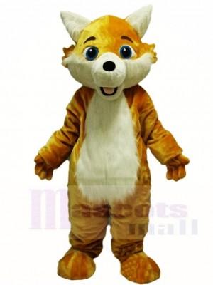 Gelb Fuchs Wolf Maskottchen Kostüme Tier