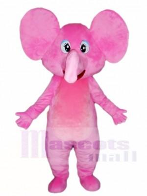 Rosa Elefant Maskottchen Kostüme Tier