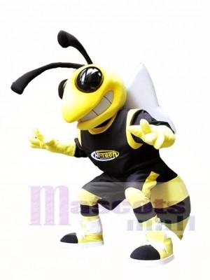 Gelbe und schwarze Hornissen Maskottchen Kostüm Hornet Insekt Maskottchen Kostüme