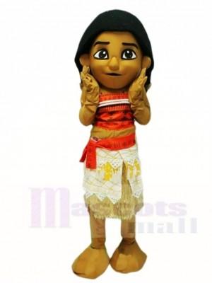 Moana Prinzessin Vaiana Ozeanien Maskottchen Kostüme Cartoon