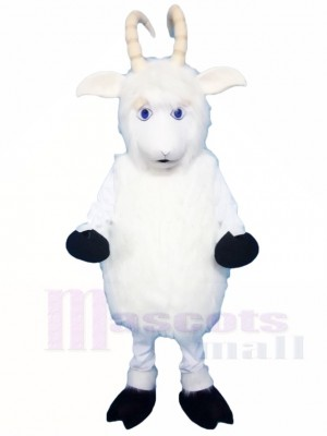 White Goat Mascot Costumes Animal