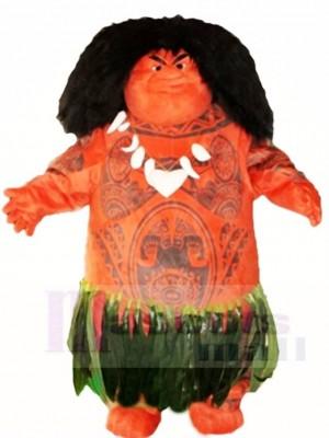 Maui aus Moana Maskottchen Kostüme Menschen