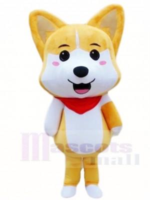 Bräunen Heiser Shiba Inu Glücklicher Hund Akita Maskottchen Kostüme Tier