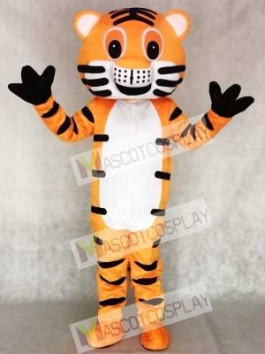 Red Tiger Maskottchen Erwachsene Kostüm Tier