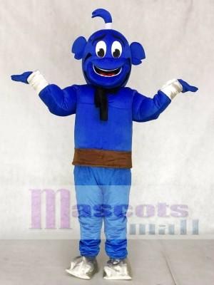 Blau Genie Maskottchen Kostüme von Shimmer and Shine