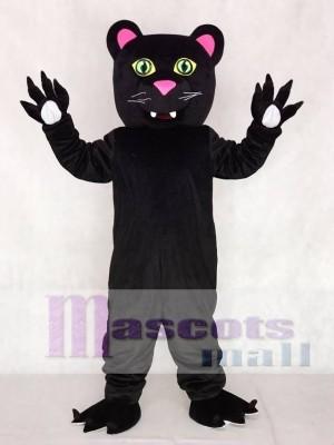 Freundlich Schwarz Panther Maskottchen Kostüme Tier