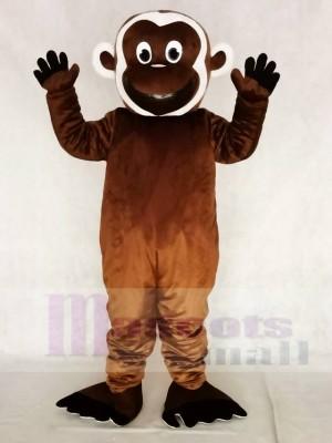 Niedliches bärtiges Affe Maskottchen Kostüme Tier