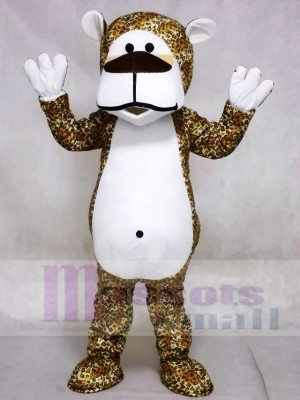 Chubby Leopard Bear Mascot Costumes Animal