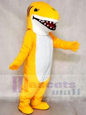Freiwählbare Farbe Gelber Hai Maskottchen Kostüme Tier Meer