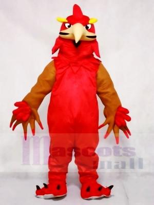Rotes Phoenix Maskottchen Kostüm Tier