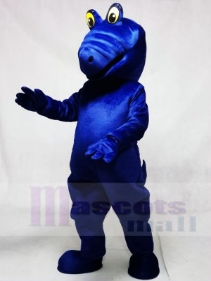 königlich Blau Albert Alligator Maskottchen Kostüme Tier