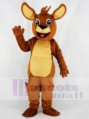 Känguru für den Winter Springs Elementary Maskottchen Kostüme Tier