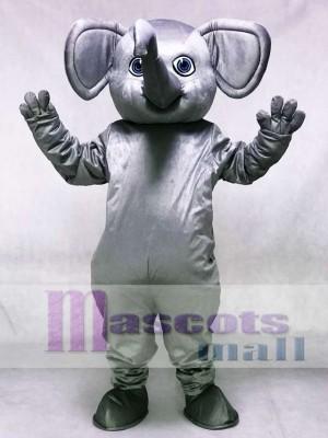 Graues Alabama Elefant Maskottchen Kostüm Tier