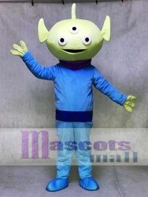 Toy Story Green Alien Mascot Costume