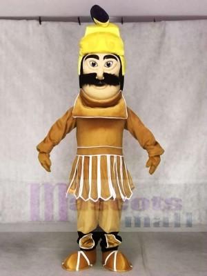 Trojaner Krieger Maskottchen Kostüme Menschen