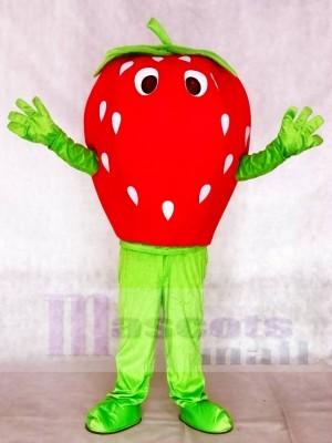 Rote Erdbeere Maskottchen Kostüm Frucht