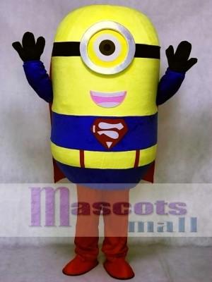 Despicable Me Minions Superman Maskottchen Kostüm Halloween Outfit