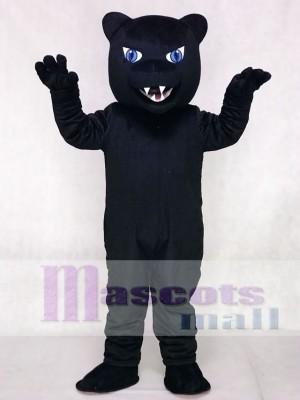Heftige neue blaue Augen Panther Maskottchen Kostüm Tier