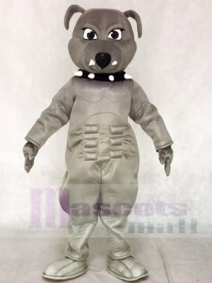 Gray Bulldog Maskottchen Kostüme Tier