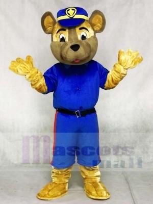 Saskatoon Polizeidienst Sarge Hund Maskottchen Kostüm