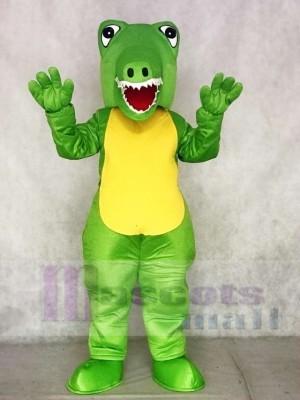 Grünes Krokodil Maskottchen Kostüme Tier