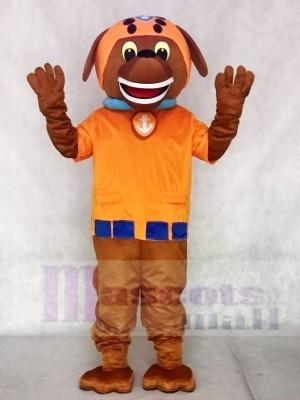 Wasserretter Pfote Patrol Zuma Hund Schokolade Labrador Pup Maskottchen Kostüm