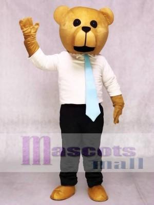 Neuer Bruce Bär mit Krawatte Maskottchen Kostüme Tier