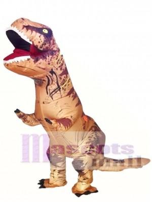 Aufblasbarer T-Rex Tyrannosaurus Kostüm Dinosaurier Halloween Anzug Cosplay