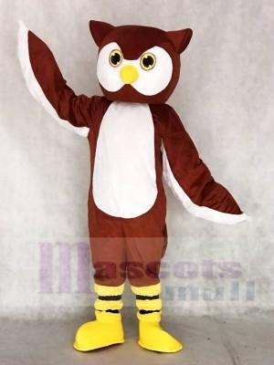 Braun Ollie Eulen Maskottchen Kostüme Tier